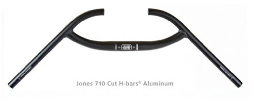 Jeff Jones Aluminium Cut-Loop H-Bar Handlebar